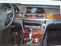 2009 BMW 7 Series Interior Spy Picture