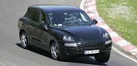 Upcoming Baby Porsche Cayenne Spy Photos