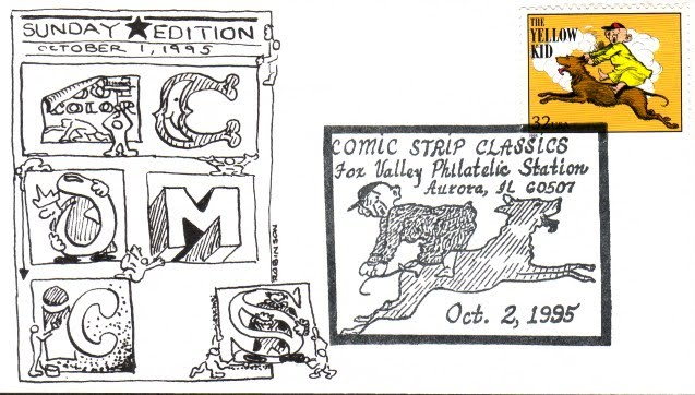 Think, Comic strip classics stamps join