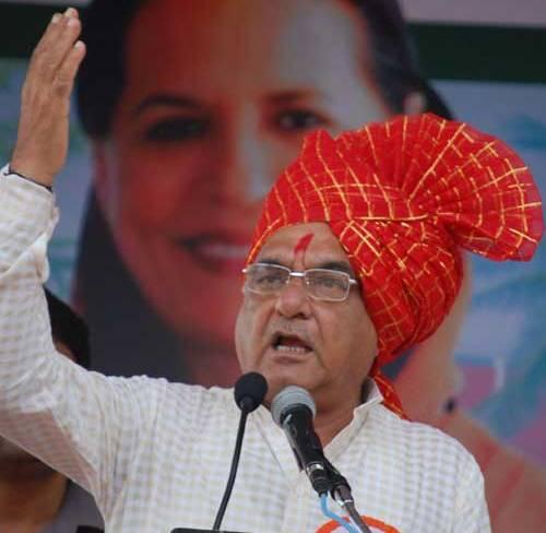 Chaudhary Bhupinder Singh Hooda : Chief Minister, Haryana