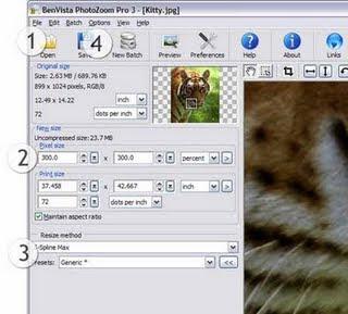 Memperbesar Image dengan PhotoZoom Pro 3.0.2 2