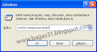 Cara Menghilangkan Menu Log On to Windows 2
