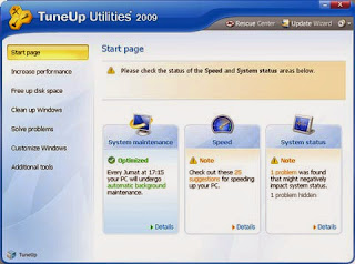 Tune Up Utilities, memperbaiki windows XP dan Vista