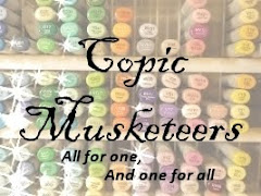 The Copic Musketeers!