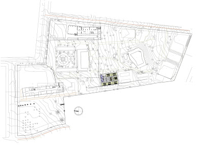 Plano emplazamiento Campus Casona Las Condes