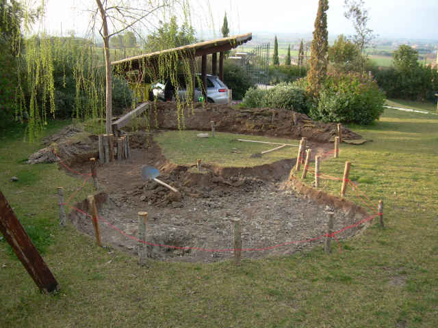 Arte natura cultura - Laghetti da giardino in cemento ...