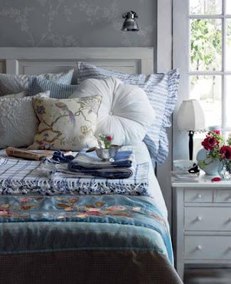 Bratte bakka og grøne lier: ny sengegavl..
