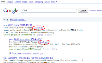 Google Adds Quick View of PDFs to SERPs