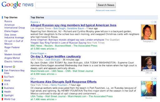 Google News cambia de look