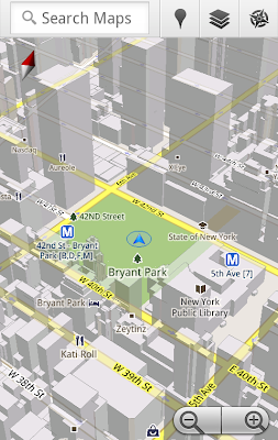 image1 Google Maps 5.0 for Android