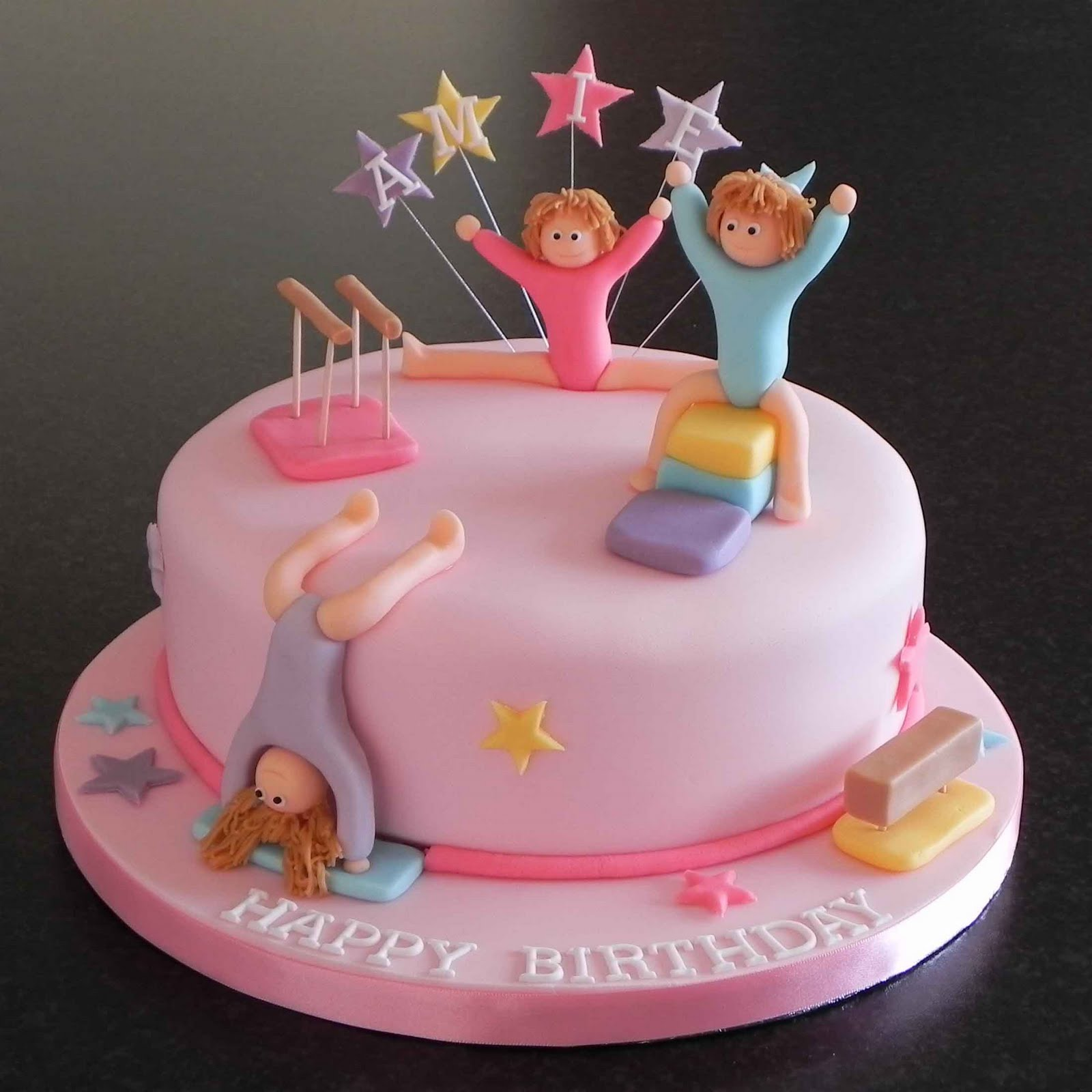 Cake Decorating Ideas Gymnastics : Cake by Lisa Price: Gymnastics Cake