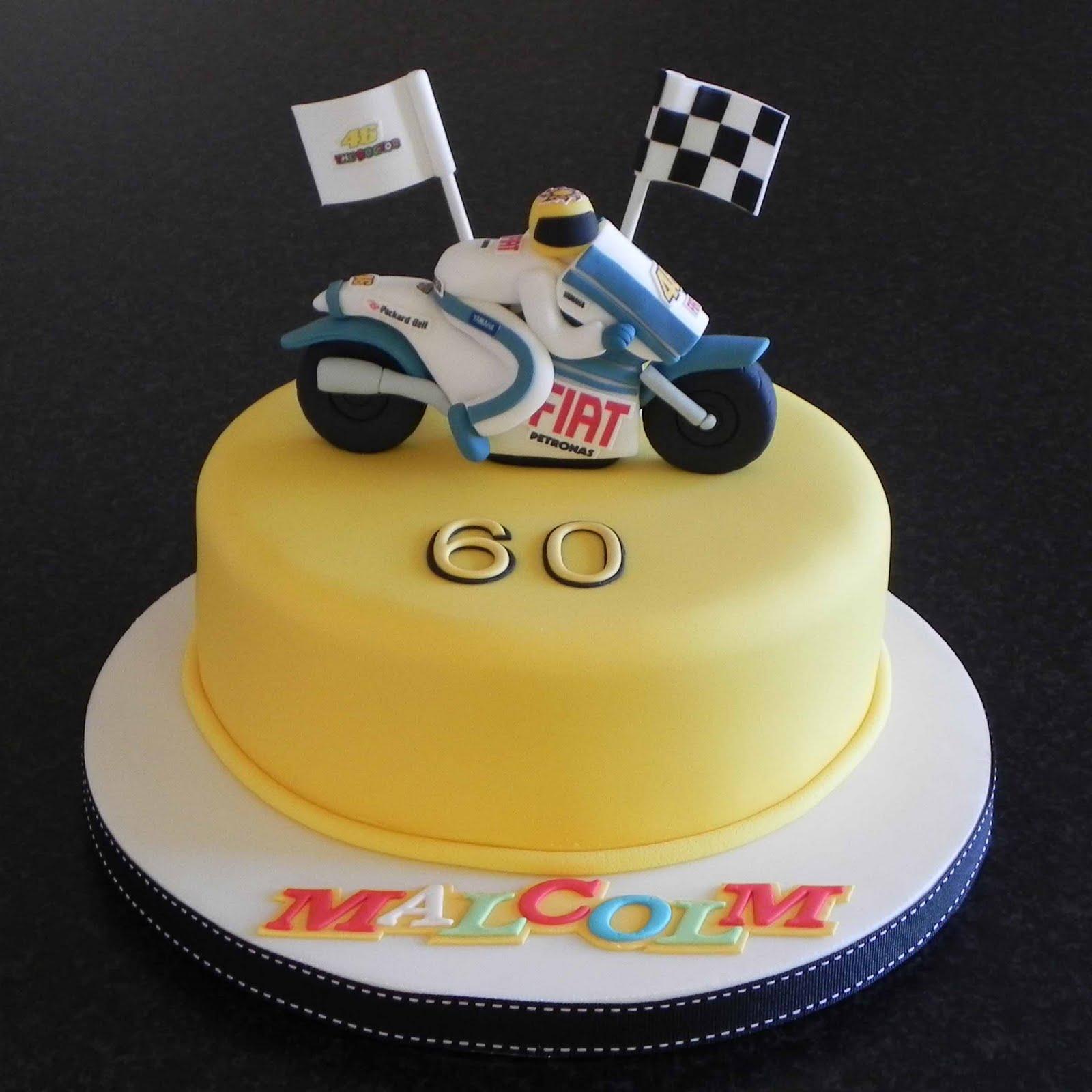 Free Cake Info Valentino Rossi cake – Valentino Rossi Birthday Card