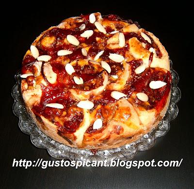 Articole culinare : Prăjitură rozetă cu vişine