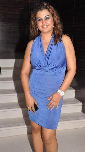 Sona In Blue Dress Gallery