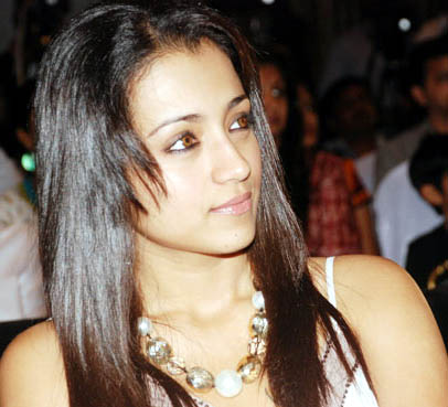 Trisha at South Calendar 2011 Launch