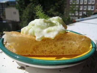 Radio cucina tzatziki for Cetriolo tondo