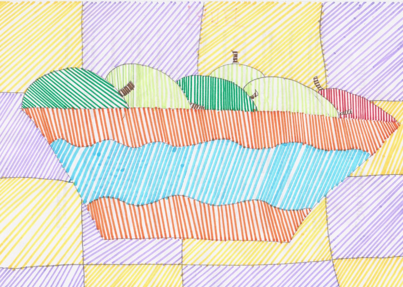 Imagen de un arce rayado