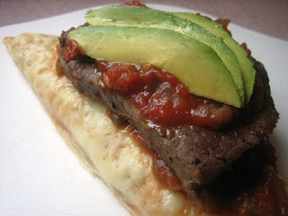 steak avacado sandwich
