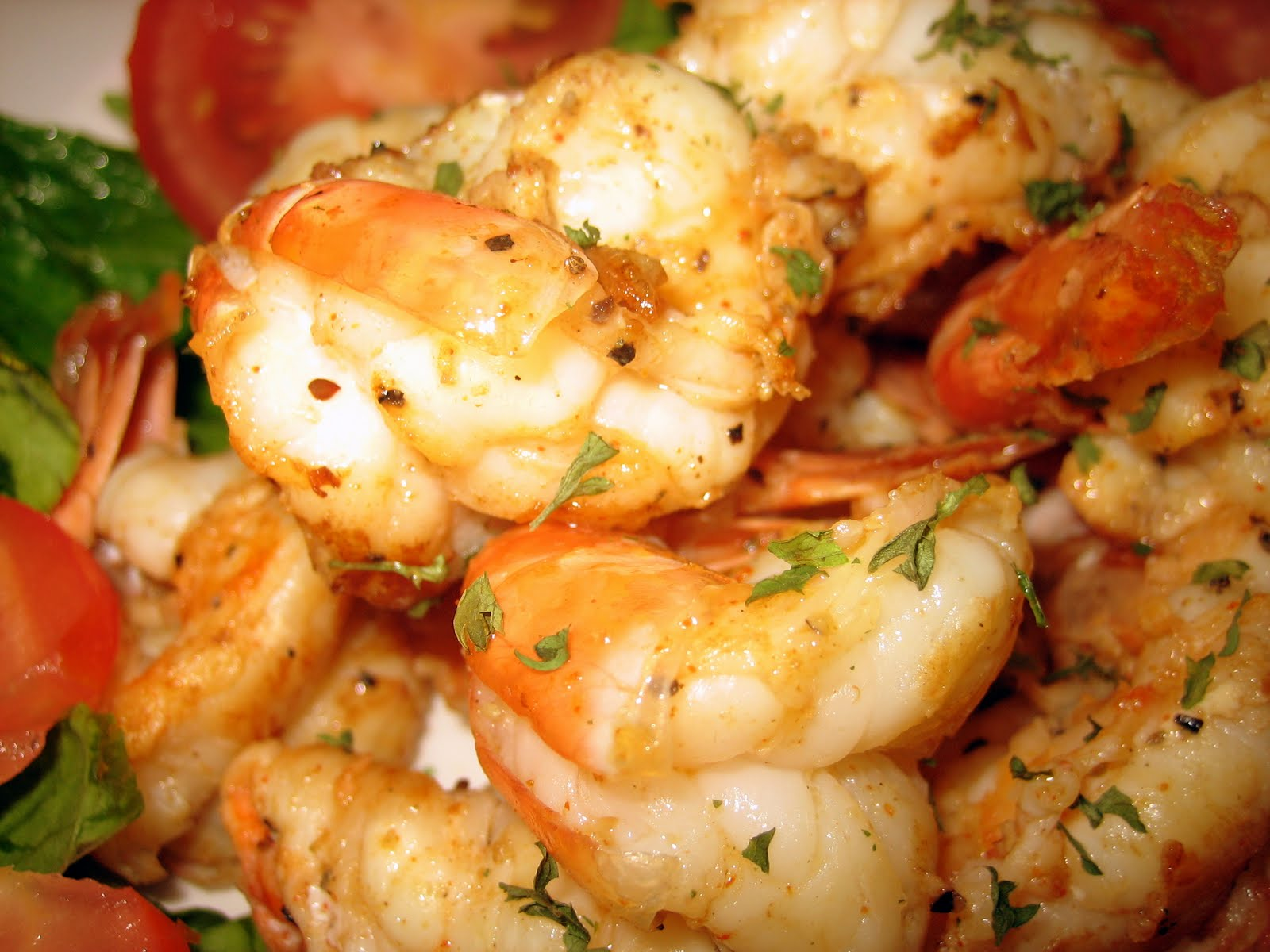 ... - Great Recipes Inspired by Great Movies: Light and Spicy Shrimp