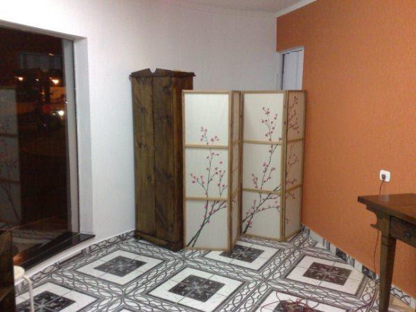 Salao de beleza detalhe armario rustico e biombo estilo - Armario estilo japones ...