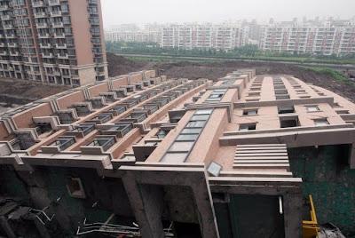 Shangay'da Yıkılan Bina