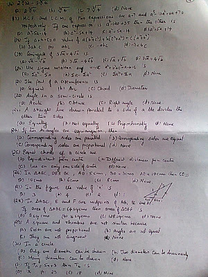 ocr maths terminal papers