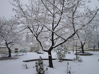 Αποτέλεσμα εικόνας για χιονι Θήβα