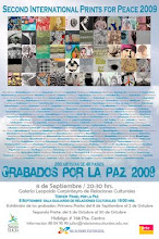 Poster Second International Colective Prints for Peace 2009
