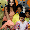 Namitha meets Kids at Children welfare association