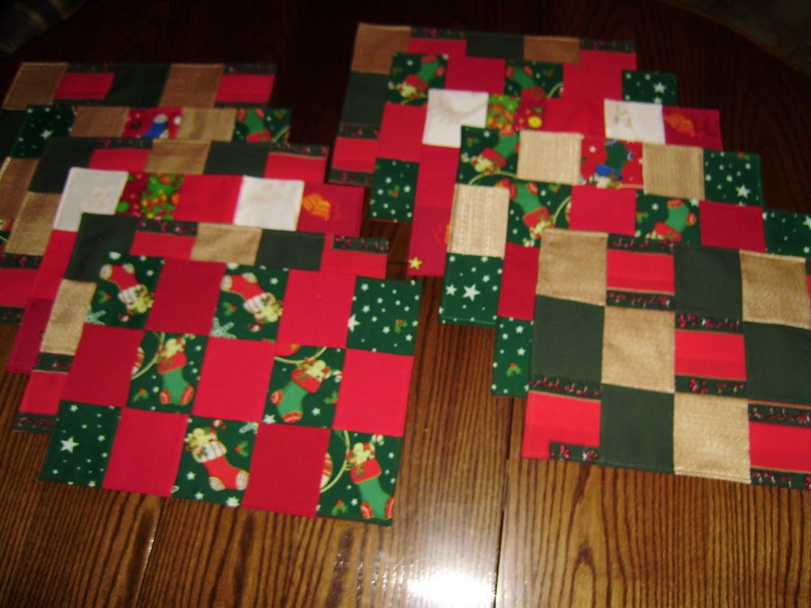 Dibu accesorios decoracion individuales de mesa de navidad for Accesorios para decorar en navidad