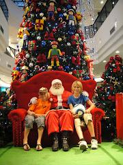 de kerstman in brasilia