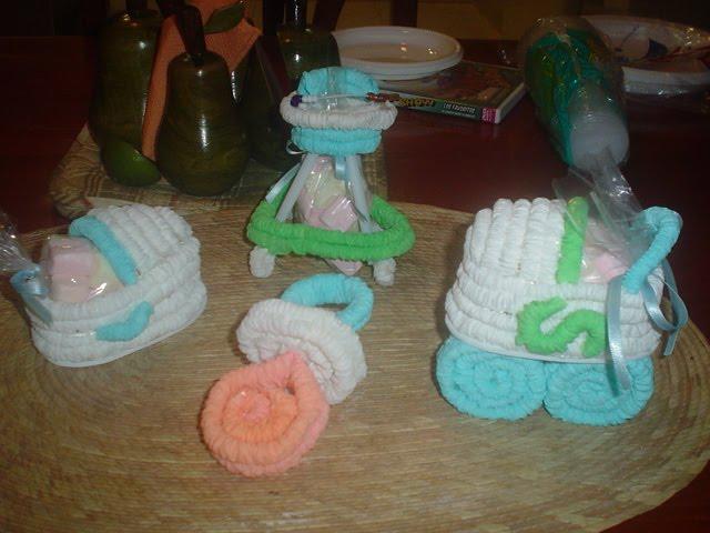 Recuerdos papel crepe para baby shower imagui - Como se hacen crepes dulces ...