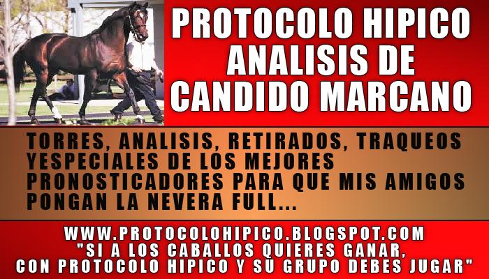PROTOCOLO HIPICO :  ANALISIS DE CANDIDO MARCANO.