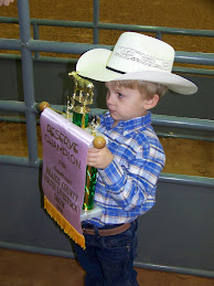 Seth Holding Chase's Trophy