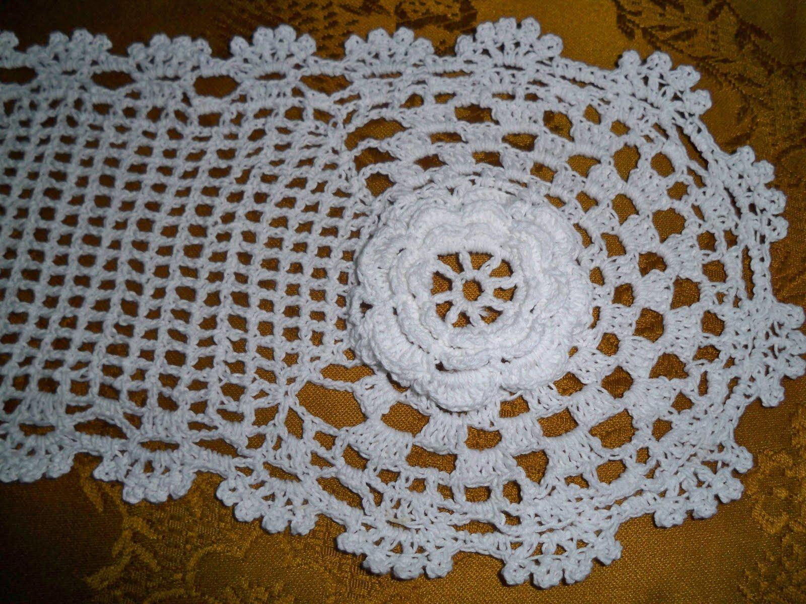 Juego De Baño A Crochet Con Patrones:CARMEN FELICIDAD: Juego de Baño con motivos de rosas en crochet