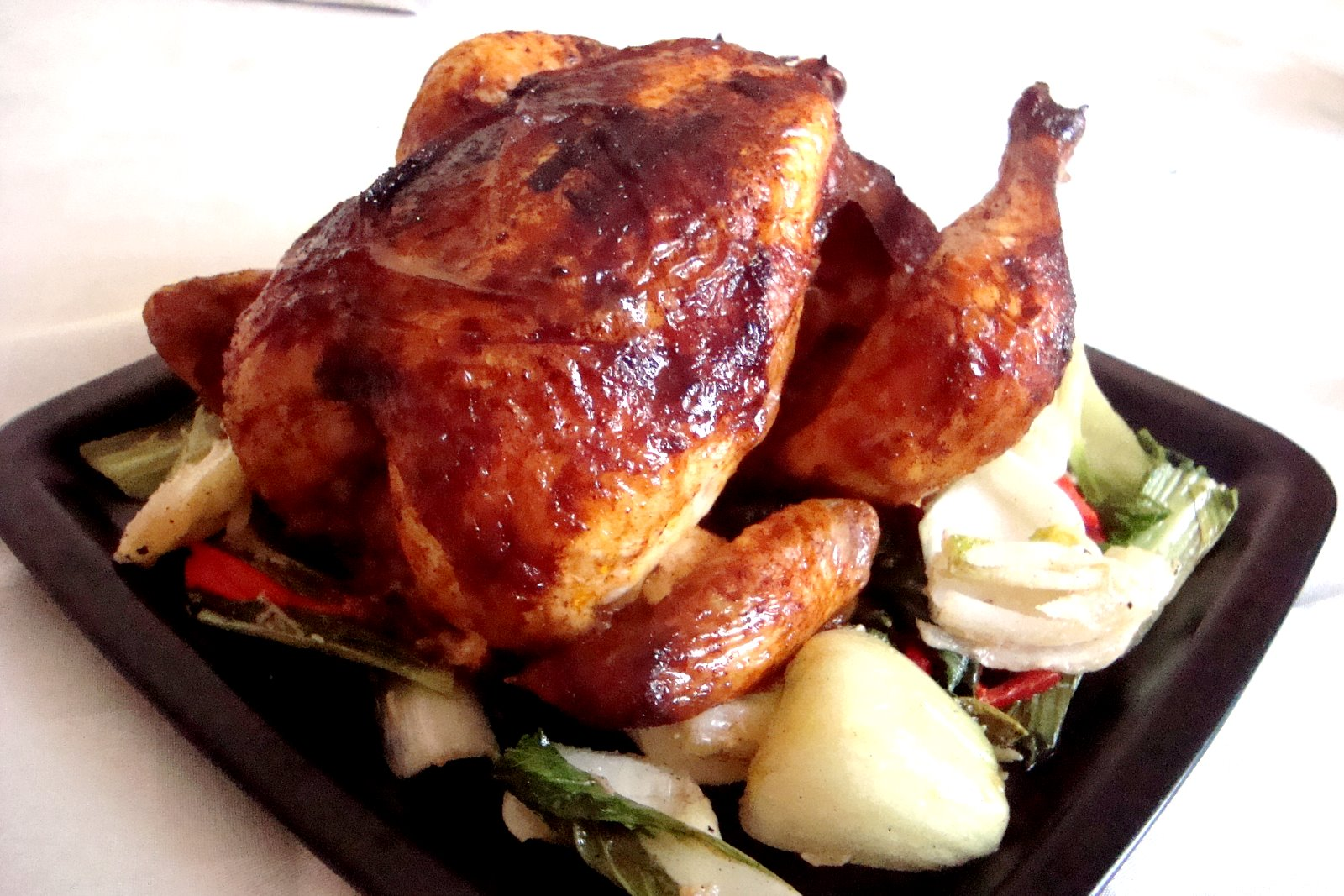 Chinese-style Roast Chicken Recipe — Dishmaps
