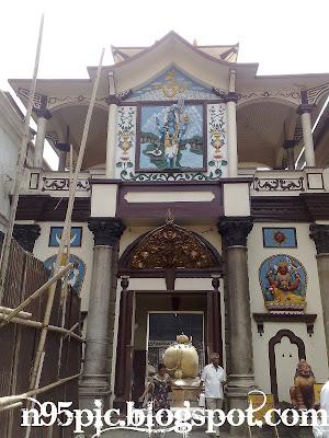 entrance of pashupatinath
