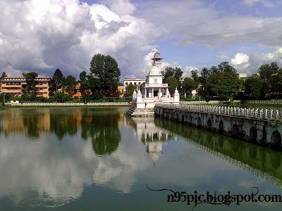pond in kathmandu