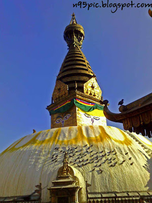 swayambhu Stupa, Nepal, self emerged Stupa, Buddhism in Nepal,n95 pictures