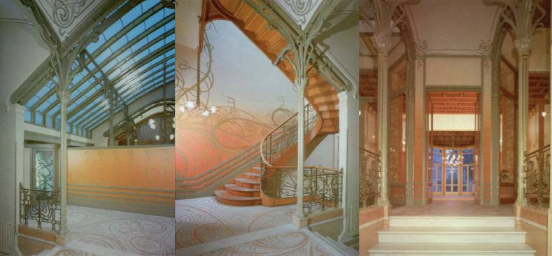 designer saves the art nouveau arquitectura casa tassel