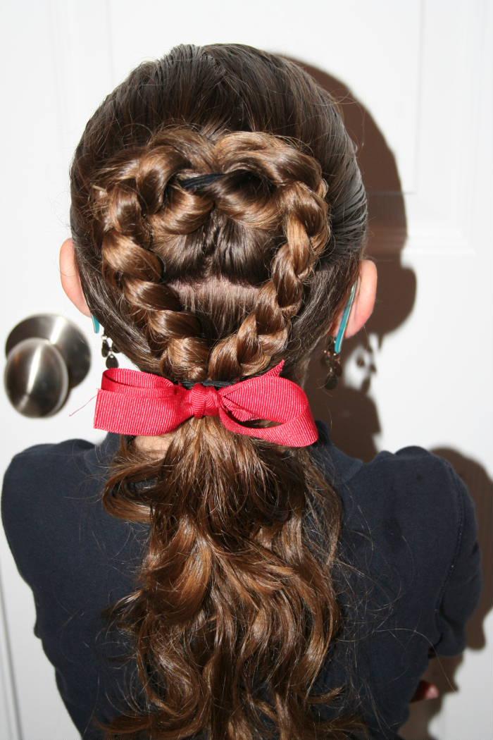 Причёска в школу для детей 10 лет