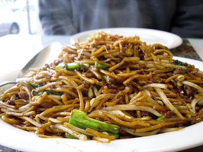 Seri Malaysia, a Malaysian restaurant in the Hastings Sunrise area of Vancouver, BC, Canada, makes a mean Beef Mee Goreng!