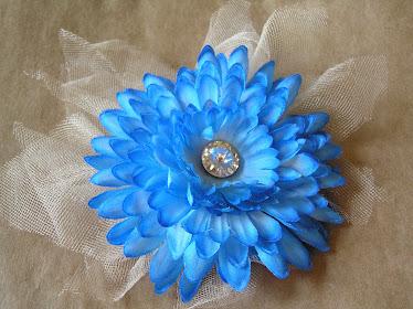 Blue Flower Clip #1
