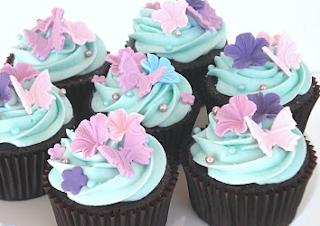 Snowflakes Cupcakes Recipe