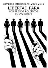 Campaña por la liberación de los presos políticos en Colombia
