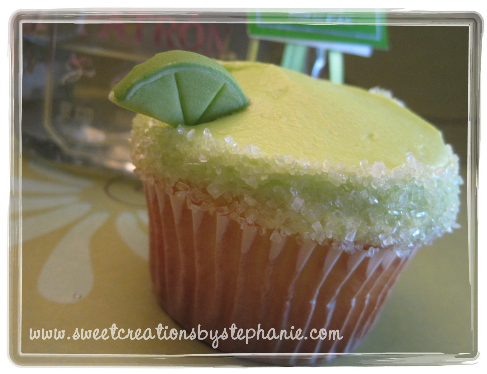 Patron Margarita Cupcakes