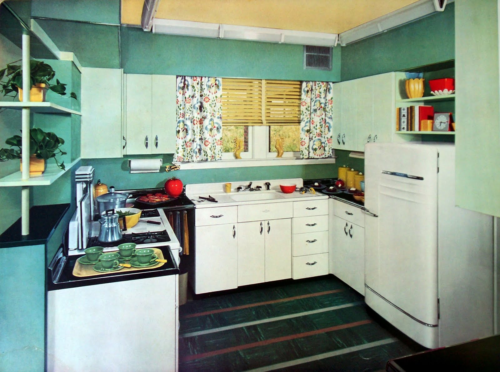 Lisa 39 S RetroStyle Mid Century Home Decor Kitchens