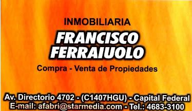 INMOBILIARIA FERRAIUOLO