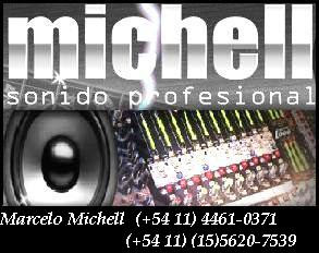 MARCELO MICHELL SONIDO PROFESIONAL