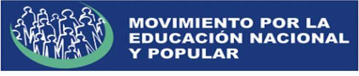MOVIMIENTO POR LA EDUCACION NACIONAL Y POPULAR